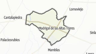 Mapa / Madrigal de las Altas Torres