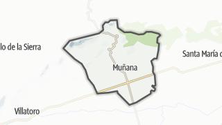 Mapa / Muñana
