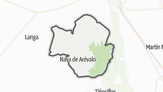 Mapa / Nava de Arévalo