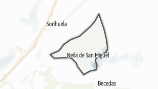 Mapa / Neila de San Miguel