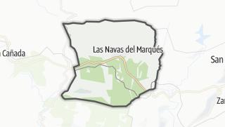 Mapa / Las Navas del Marqués
