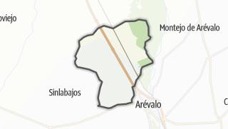 Mapa / Palacios de Goda