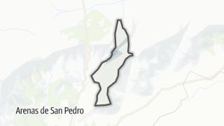 Mapa / San Esteban del Valle