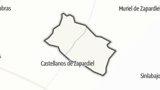 Mapa / San Esteban de Zapardiel