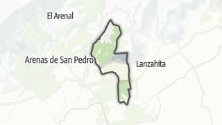 Mapa / Santa Cruz del Valle