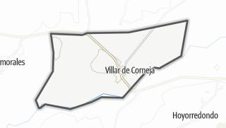 Mapa / Villar de Corneja