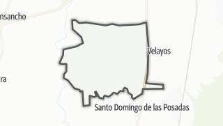 Mapa / Vega de Santa María
