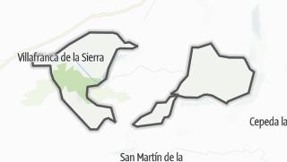 Mapa / Villafranca de la Sierra