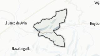 Mapa / Santiago del Tormes