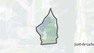 Térkép / Saccourvielle
