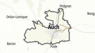 Карта / Auch