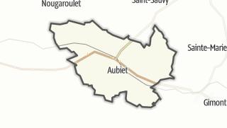 Карта / Aubiet