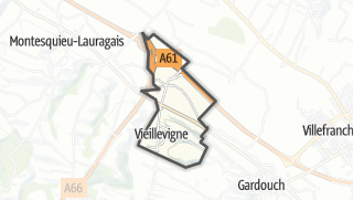 Térkép / Vieillevigne
