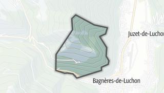 Térkép / Cazaril-Laspènes