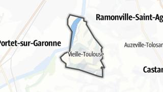 Térkép / Vieille-Toulouse