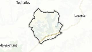 Карта / Montagudet