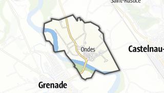 Térkép / Ondes