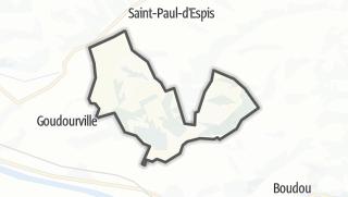 Карта / Saint-Vincent-Lespinasse
