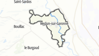 Карта / Verdun-sur-Garonne