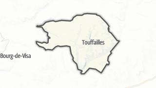 Карта / Touffailles