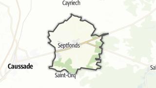 Карта / Septfonds