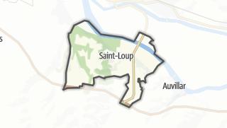 Карта / Saint-Loup