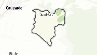 Карта / Saint-Cirq