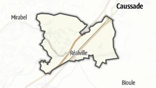Карта / Réalville