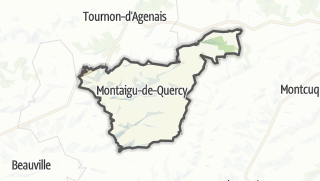 Карта / Montaigu-de-Quercy