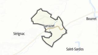 Карта / Larrazet