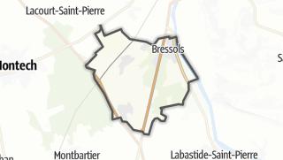 Карта / Bressols