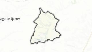 Карта / Belvèze