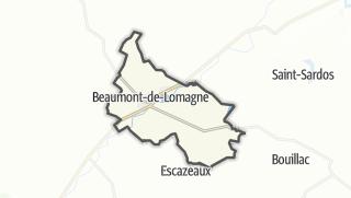 Карта / Beaumont-de-Lomagne