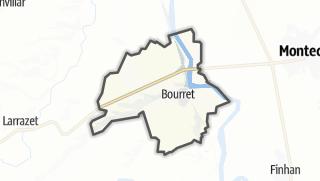 Карта / Bourret