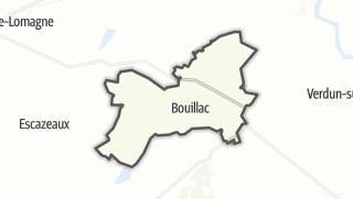 Карта / Bouillac