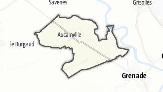 Карта / Aucamville