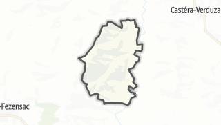 Карта / Saint-Paul-de-Baïse