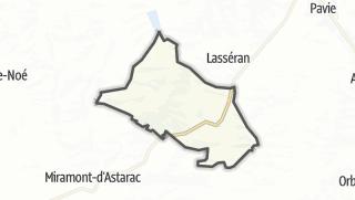 Карта / Saint-Jean-le-Comtal
