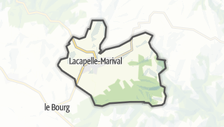 Карта / Lacapelle-Marival