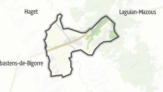 Карта / Villecomtal-sur-Arros