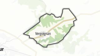 Карта / Vergoignan