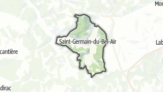 Карта / Saint-Germain-du-Bel-Air