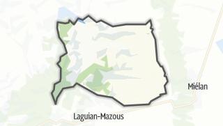 Карта / Aux-Aussat