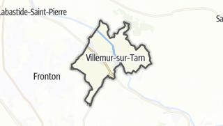Térkép / Villemur-sur-Tarn