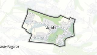 Térkép / Vigoulet-Auzil