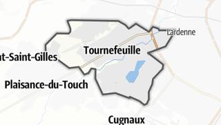 Térkép / Tournefeuille