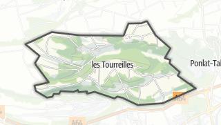 Térkép / Les Tourreilles
