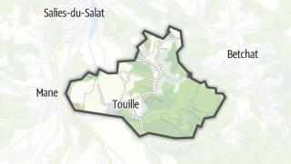 Térkép / Touille