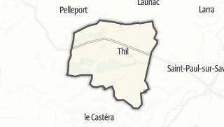 Térkép / Thil