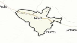 Карта / Gimont